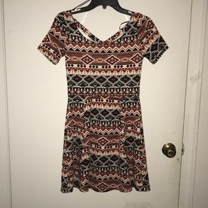 Aztec pattern H&am dress